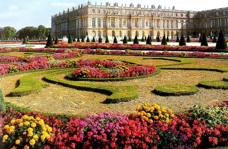 Palácio e os Jardins de Versalhes na França