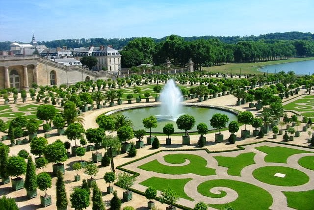 Jardins de Versalhes na França