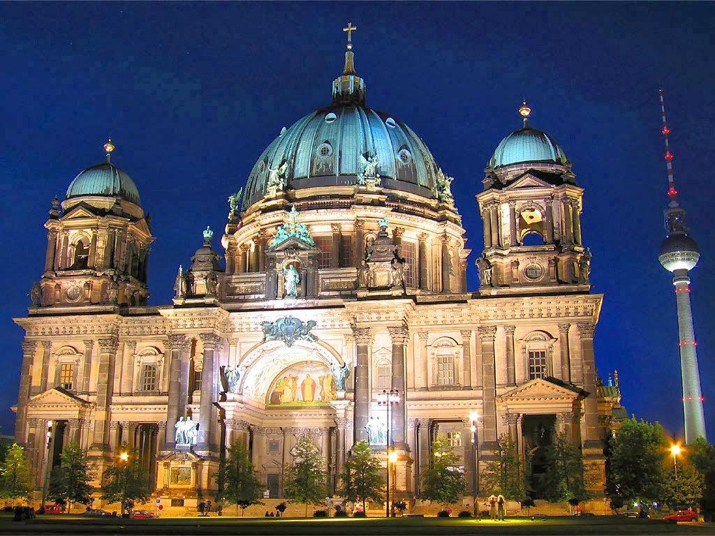 Catedral de Berlim na Alemanha