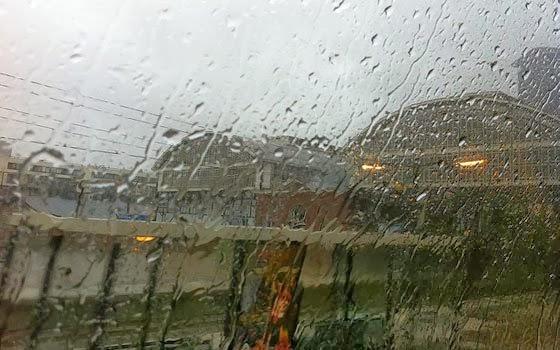 Dia de chuva na Holanda