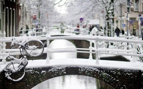 Inverno na Holanda