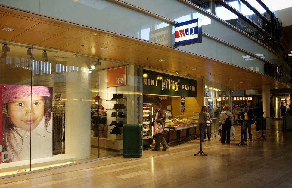 Shopping em Rotterdam na Holanda