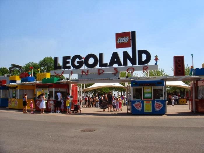 Legoland em Windsor na Inglaterra