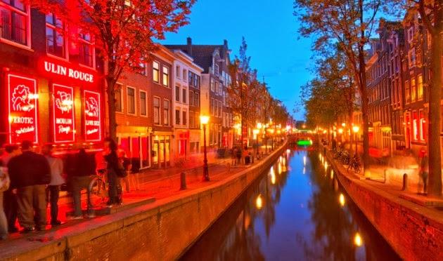 Estabelecimentos no Bairro De Wallen em Amsterdam
