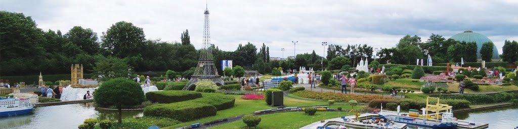 Miniaturas do Parque Mini-Europa em Bruxelas