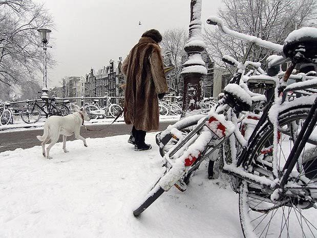 Inverno em Amsterdam