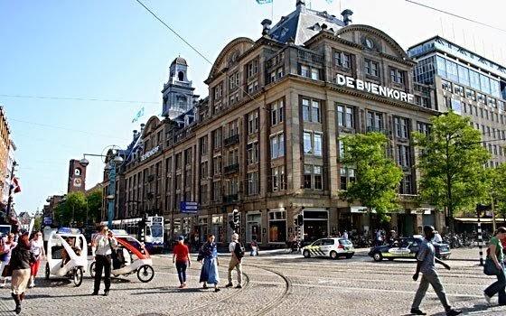 ShoppingDe Bijenkorf em Amsterdam