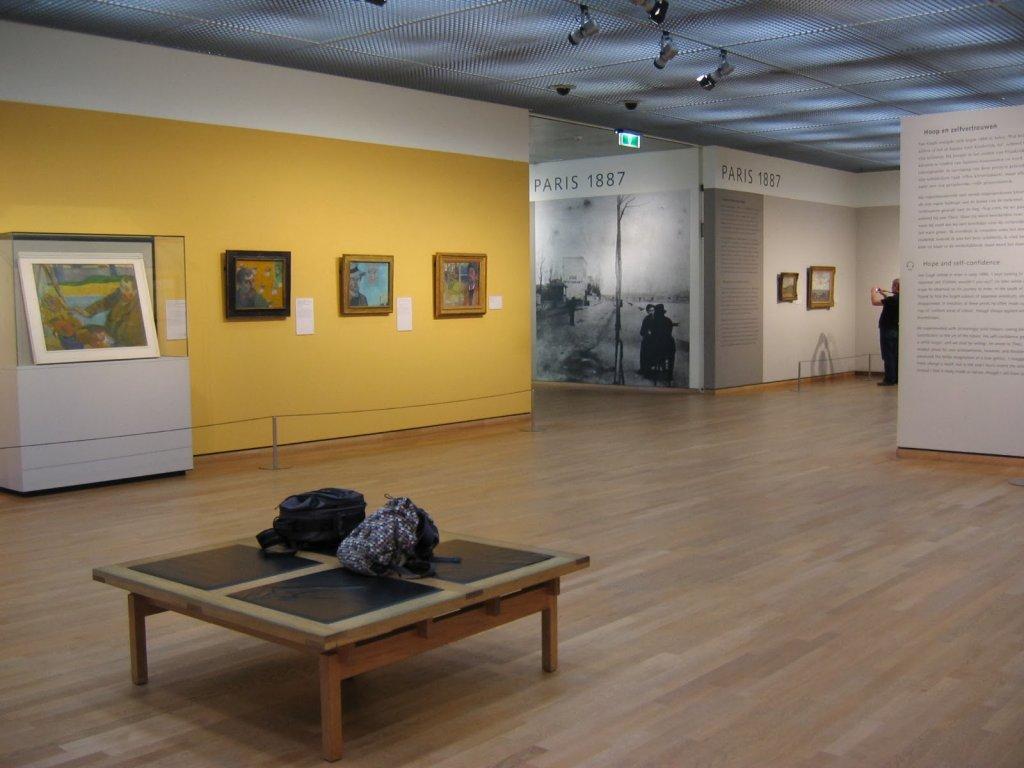 Obras expostas no Museu Van Gogh em Amsterdam