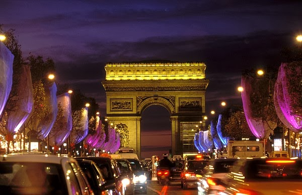 Champs-Elysées em Paris na França