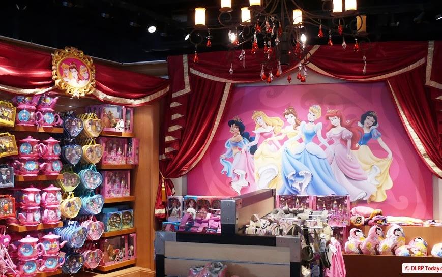 Loja na Disneyland Paris na França