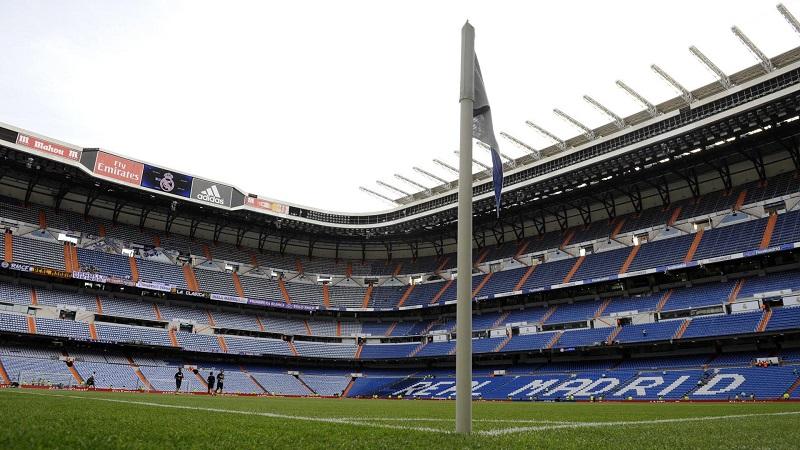 Estádio Santiago Bernabéu em Madri | Espanha