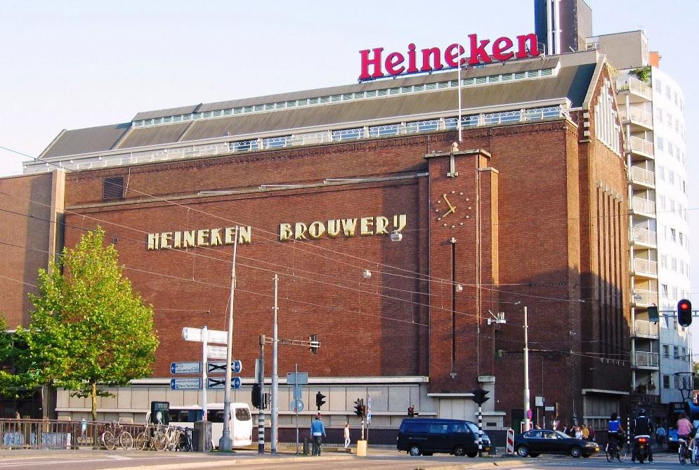 Fábrica da Heineken em Amsterdam