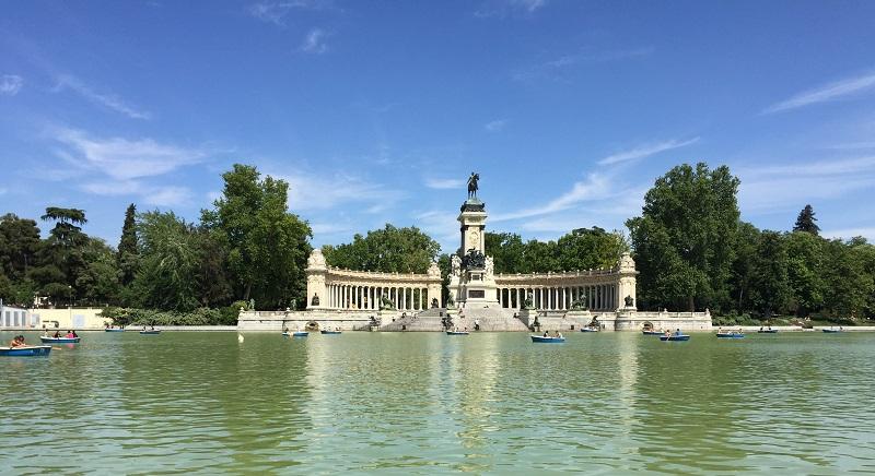 Parque do Retiro em Madri | Espanha