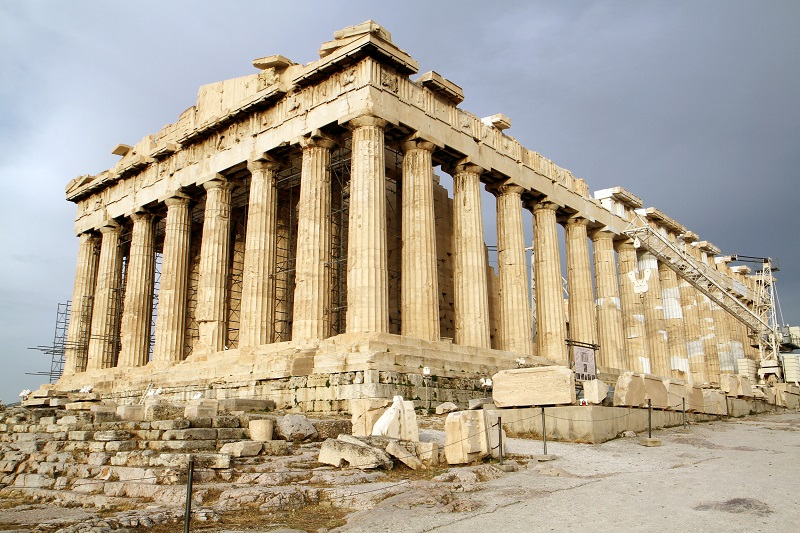 Pártenon em Atenas   Grécia