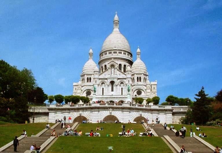 Basílica do Sagrado Coração em Paris