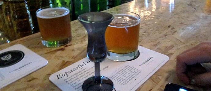 kopstoot, combinação de jenever com cerveja