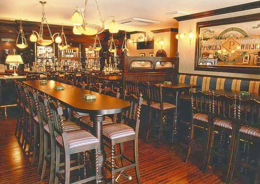 Interior do The Sherlock Holmes Pub em Londres