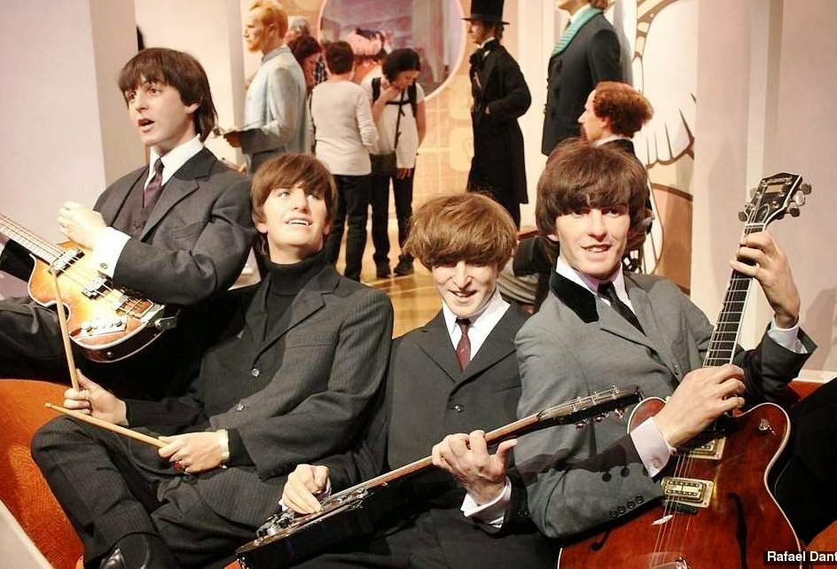 Beatles no Museu de cera Madame Tussauds em Londres