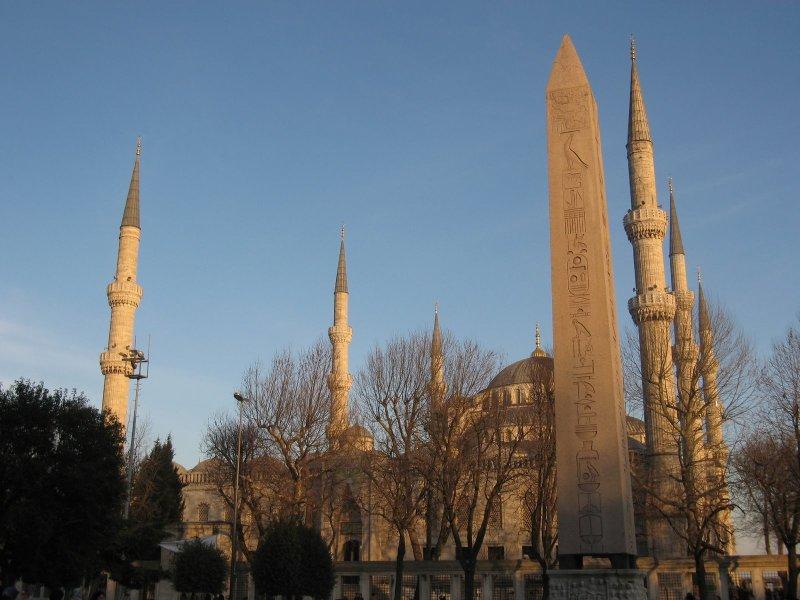 Hipódromo em Istambul   Turquia
