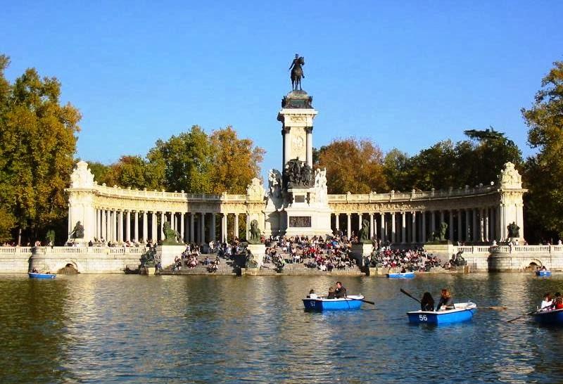 Jardins do Retiro de Madrid