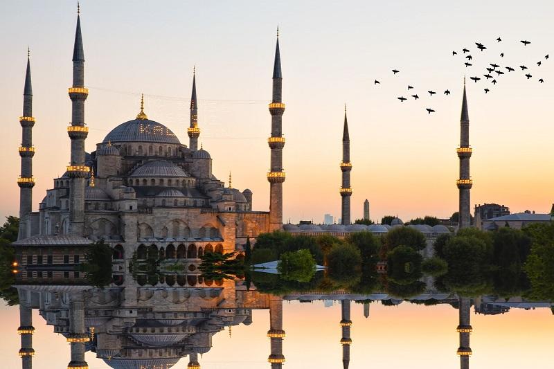 Mesquita Azul em Istambul   Turquia