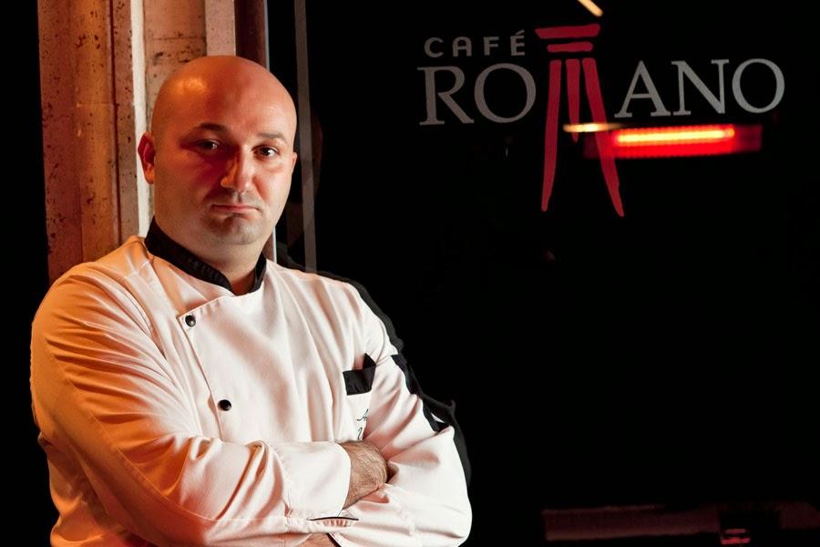 Chef Antonio Vitale do Café Romano