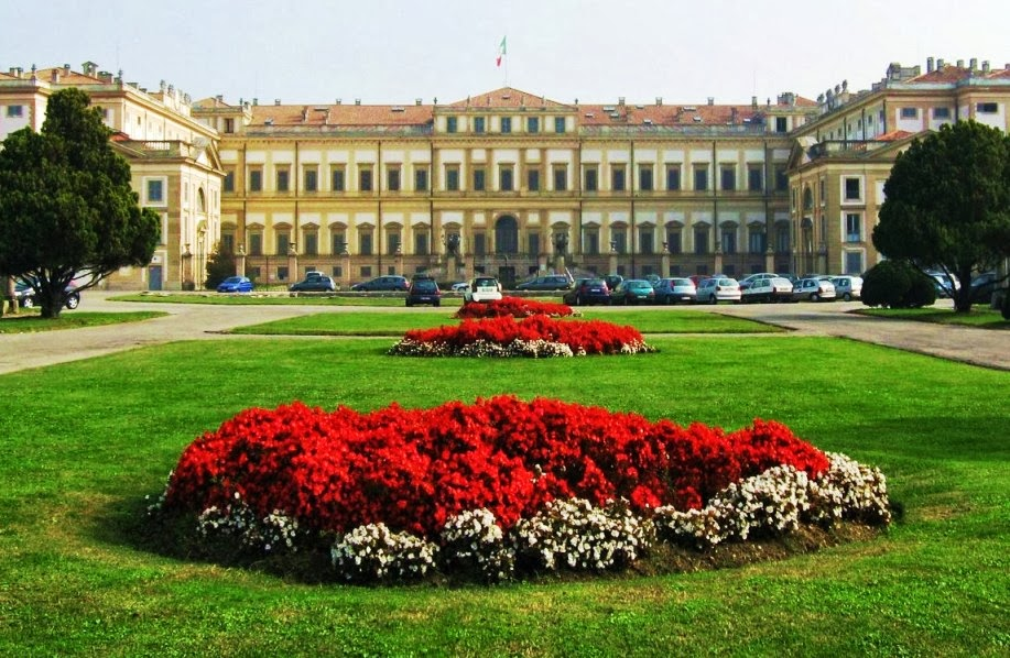 Giardino della Villa Reale em Milão