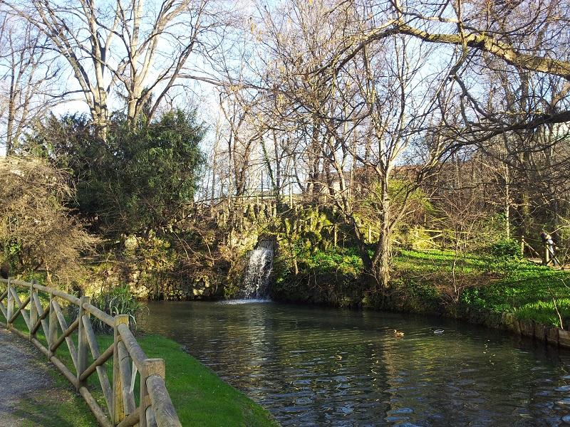 Jardim Giardino della Villa Reale em Milão   Itália