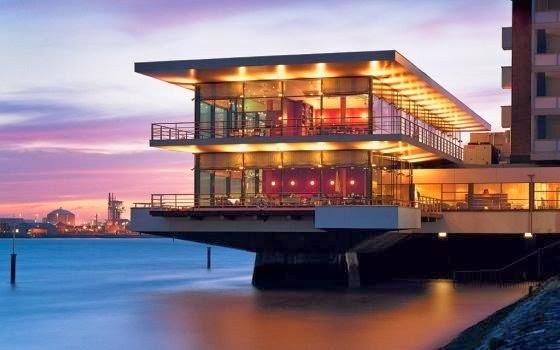Hotel de praia na Holanda