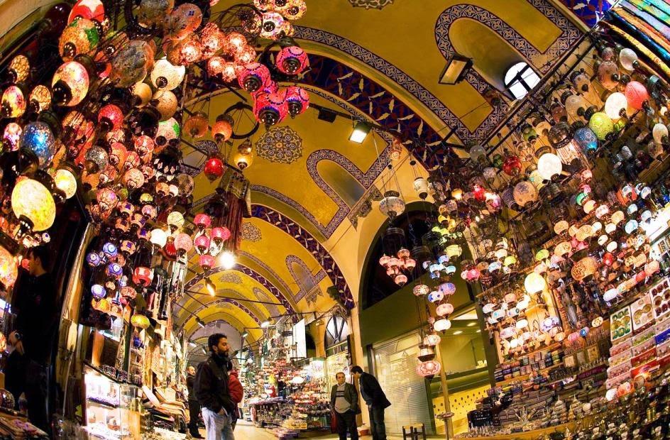 Mercado Grande Bazar de Istambul