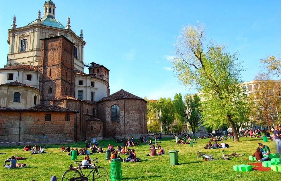Parco delle Basiliche em Milao