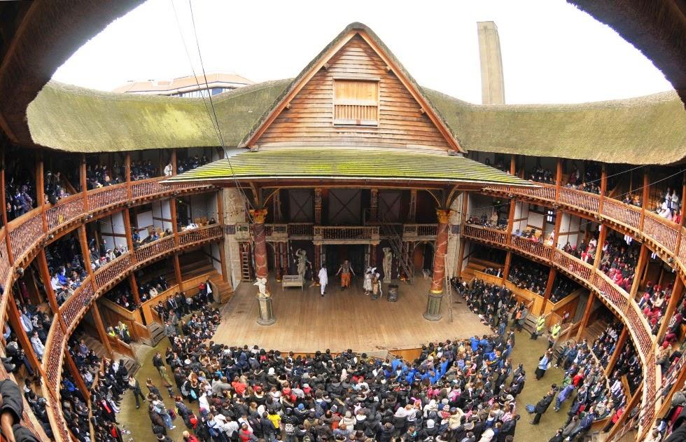 Teatro The Globe de Shakespeare em Londres