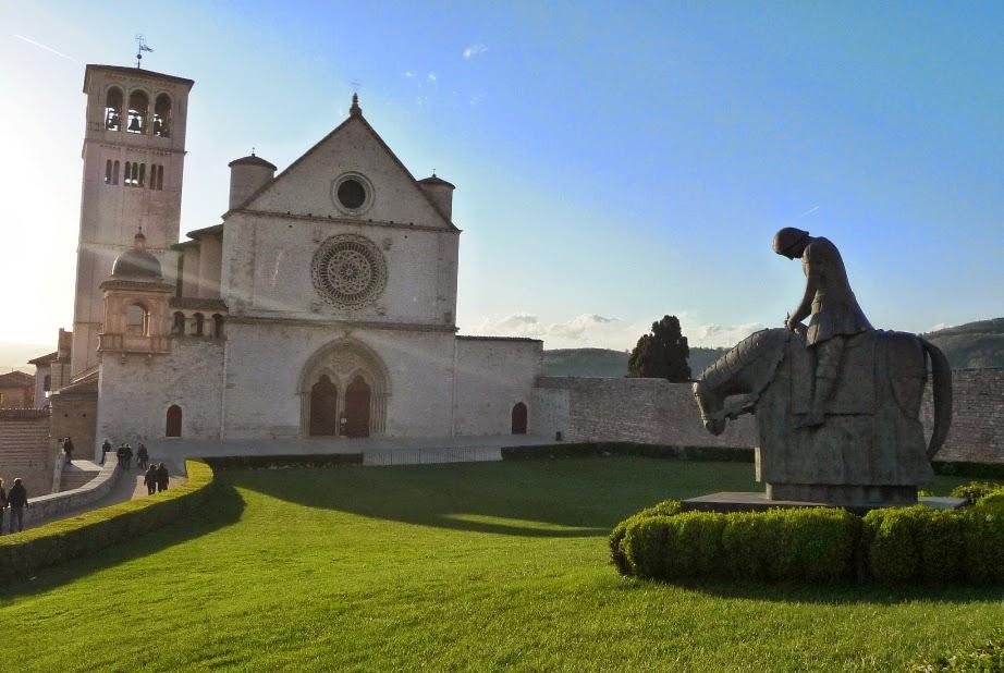Basílica de São Francisco de Assis na Itália