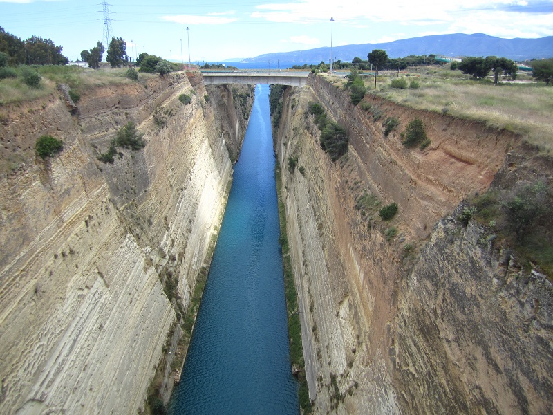 O Canal de Corinto | Grécia