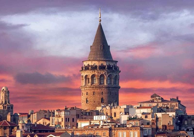 Torre Gálata em Istambul   Turquia