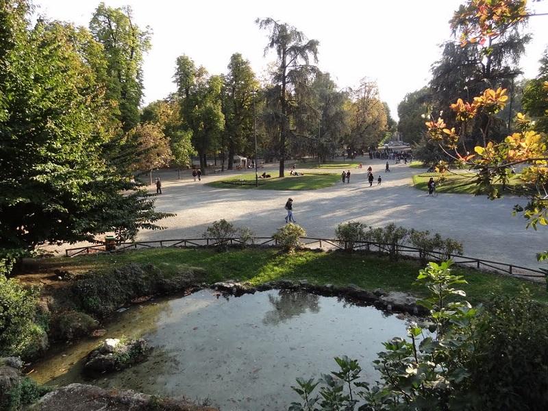 Parque Giardini Pubblici di Porta Venezia em Milão – Itália