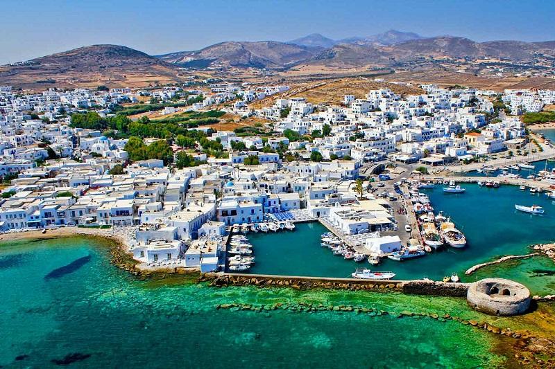 Ilha de Paros na Grécia