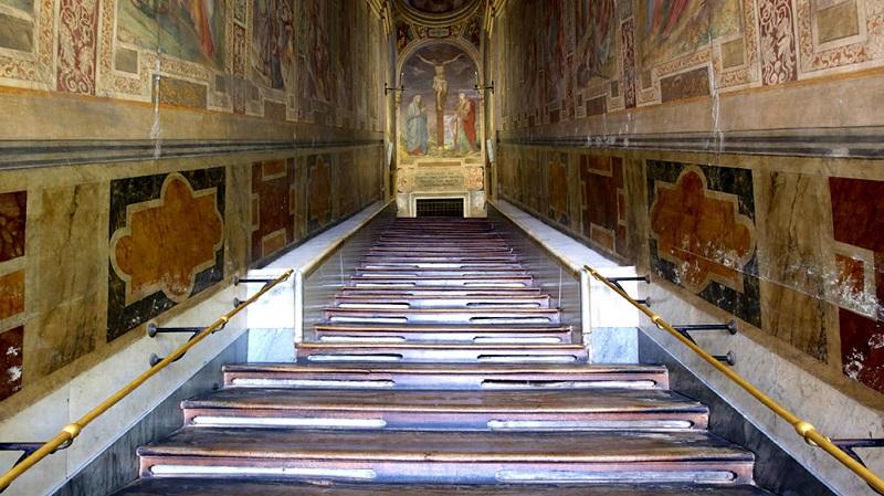 Santuário da escada santa em Roma | Itália