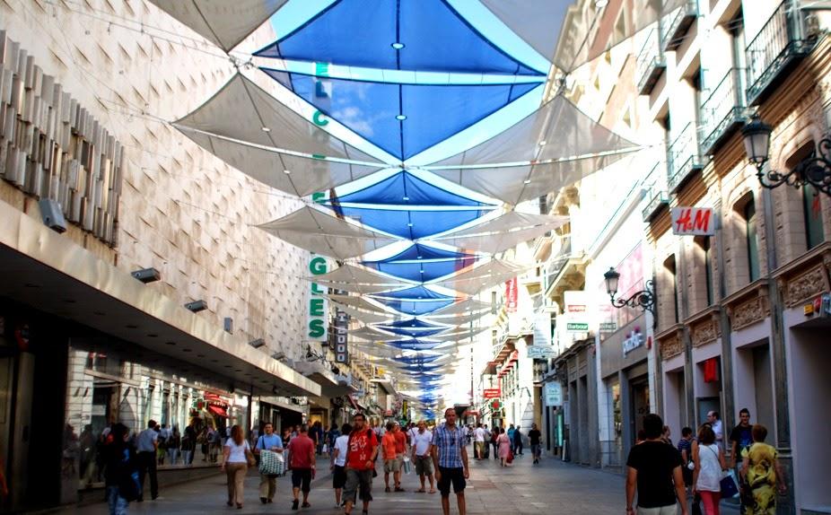 Estabelecimentos comerciais em Madri