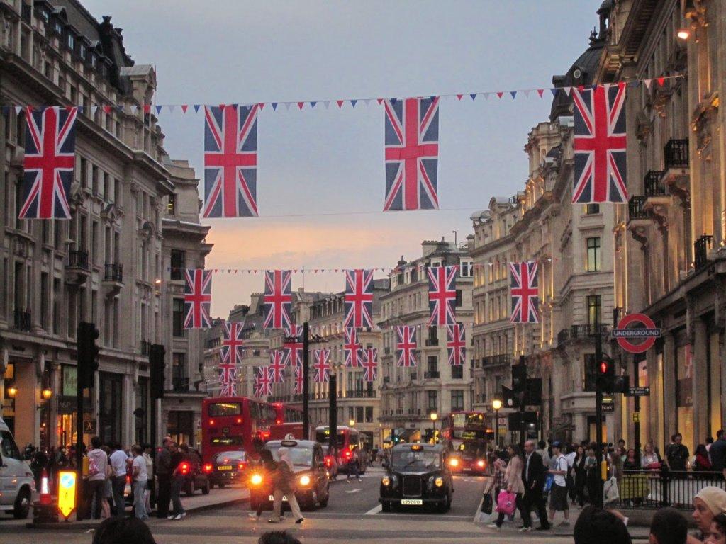 Regent Street em Londres