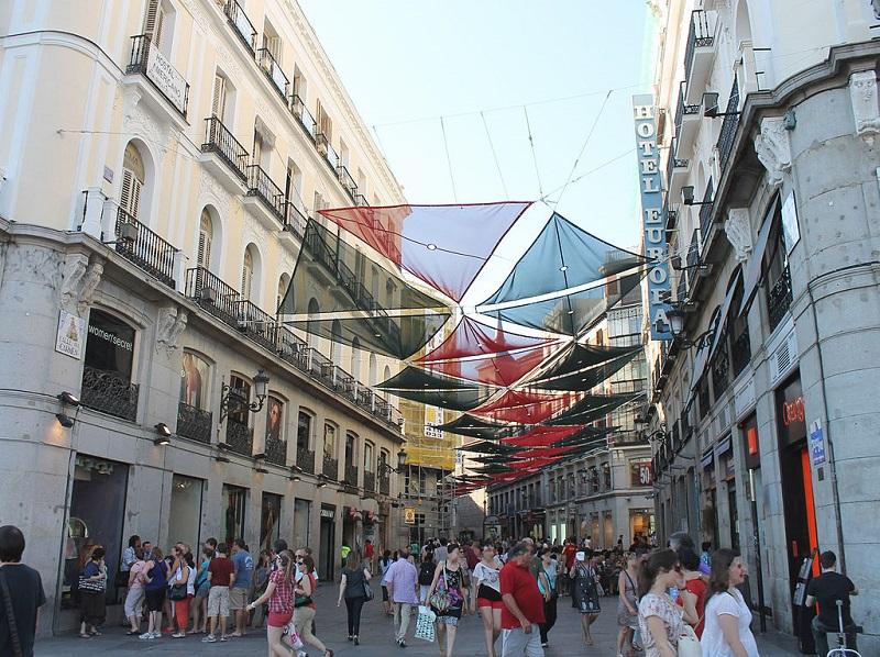 Calle Carmem em Madri