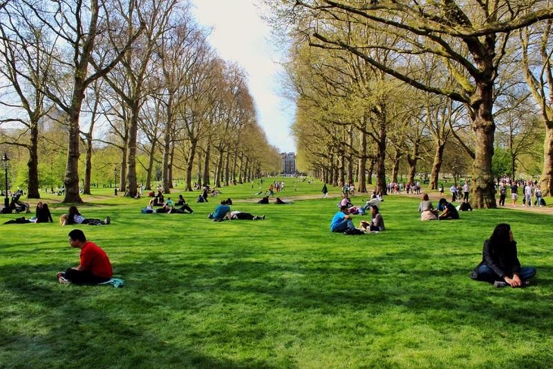 Parque Green Park em Londres | Inglaterra