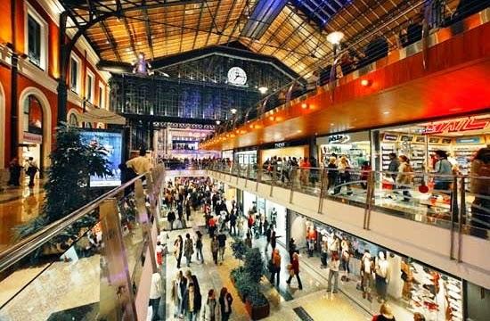 Shopping Príncipe Pío em Madri