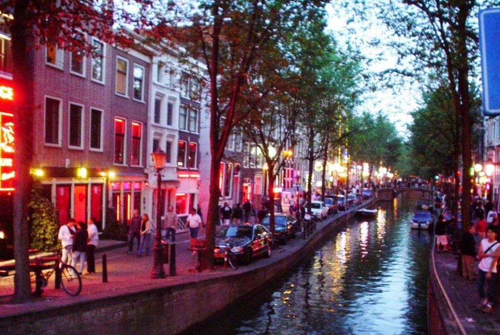 Red Light District em Amsterdam