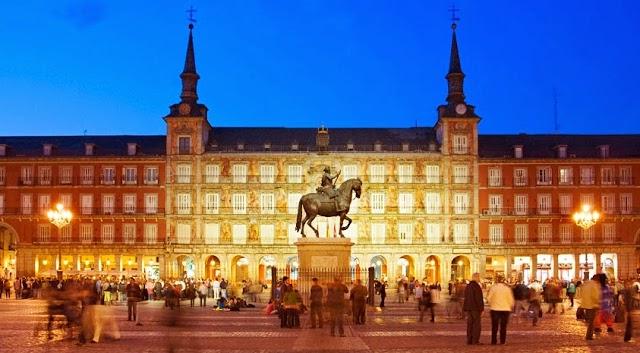 Plaza Mayor em Madri