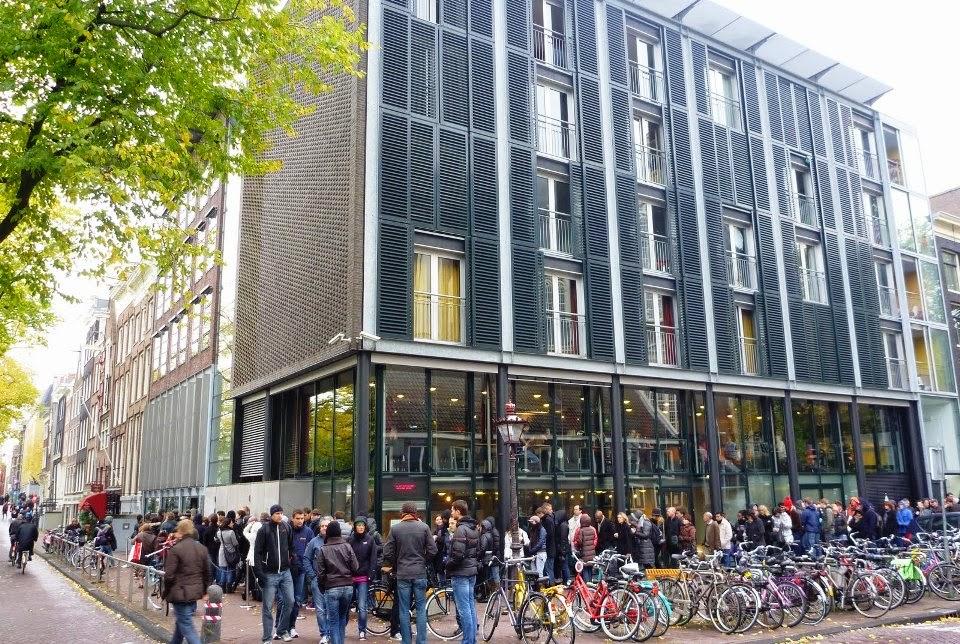 Museu e Casa de Anne Frank em Amsterdam