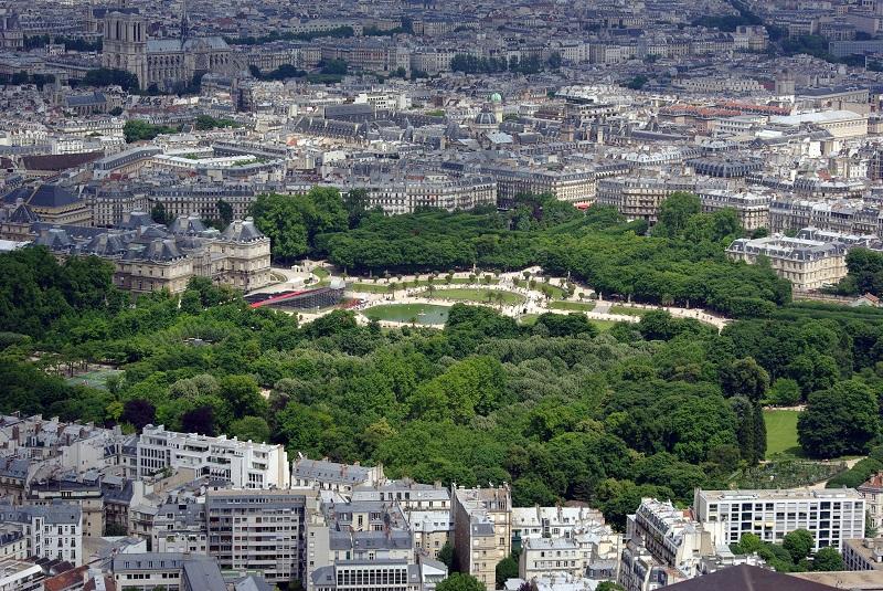 Jardim de Luxemburgo em Paris | França