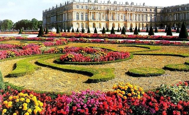 Jardim Versalhes em Paris