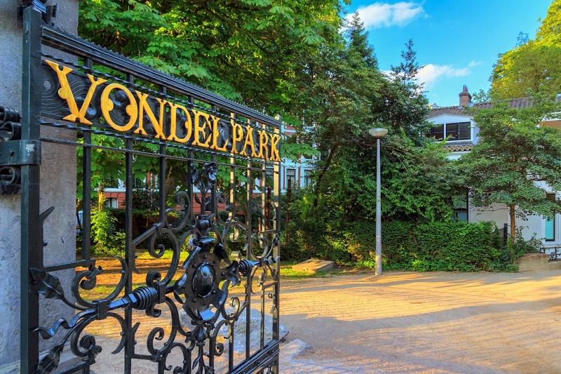 Parque Vondelpark em Amsterdam | Holanda