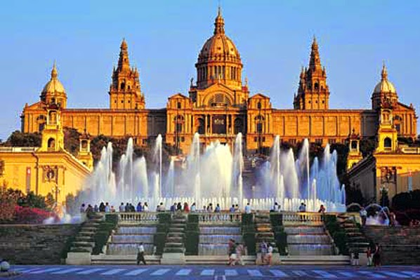 Barcelona no verão